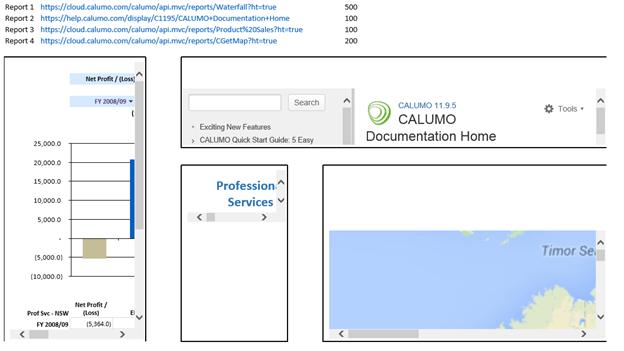 CREPORTFRAME - CALUMO Documentation